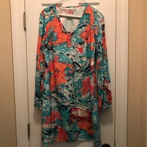 Lilly Pulitzer Connie Dress X Marks the Spot